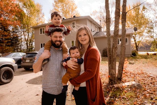 Famille en Canada